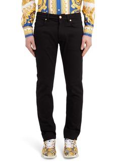 Versace Trim Fit Jeans (Black)