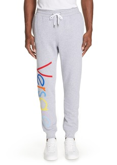Versace Fleece Jogger Pants