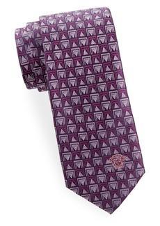 Versace Geo Silk Tie