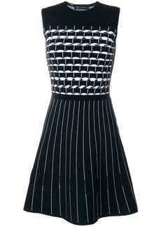 Versace geometric patterned dress - Unavailable