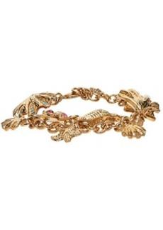 Versace Gold Trésor De La Mer Pendant Bracelet