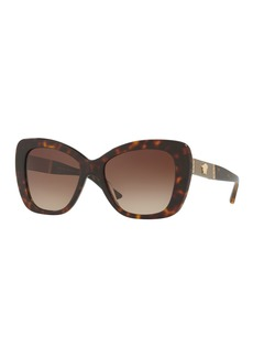 Versace Gradient Oversize Cat-Eye Sunglasses