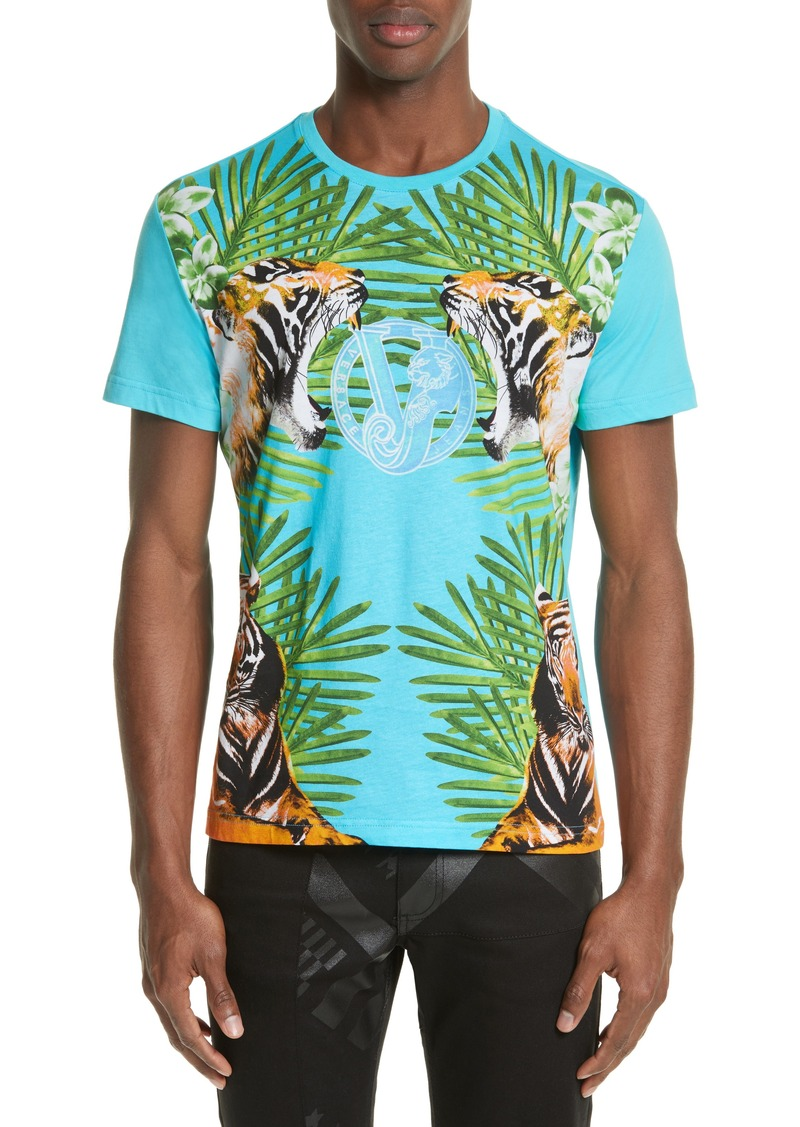 Versace versace jeans graphic t shirt t shirts shop it for T shirt graphics for sale