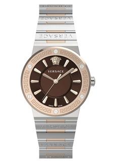 Versace Greca Bracelet Watch, 38mm