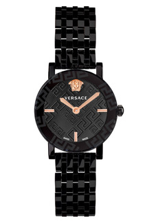 Versace Greca Glass Bracelet Watch, 32mm
