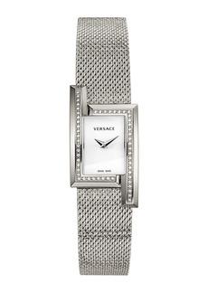 Versace Greca Icon Diamond Bracelet Watch, 39mm x 21mm