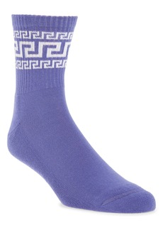 Versace Greca Logo Socks