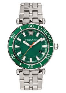 Versace Greca Sport Bracelet Watch, 43mm