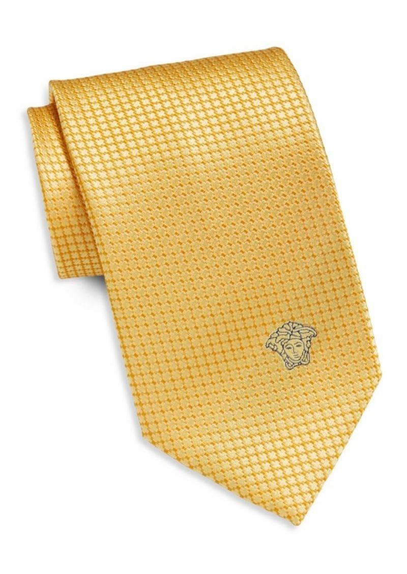 Versace Collection Grid Neat Silk Tie