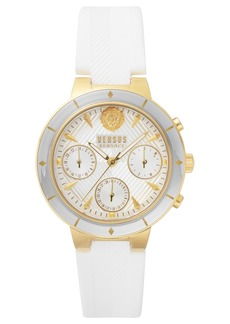 Versus Versace Harbour Heights Silicone Strap Watch, 38mm