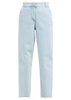 Versace High-rise straight-leg jeans