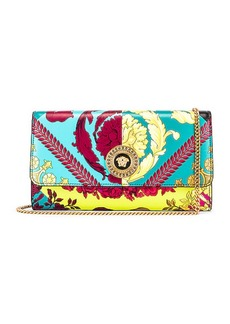 VERSACE Icon Flap Chain Wallet Bag