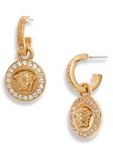 Versace Icon Medusa Drop Earrings
