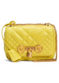 Versace Icon Quilted Leather Crossbody Bag