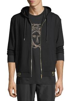 Versace Iconic Hooded Sweat Jacket