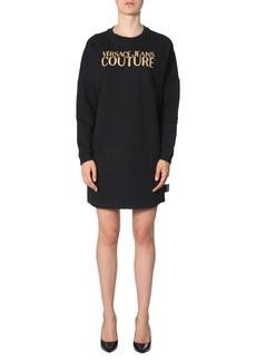 Versace Jeans Couture Cotton Sweatshirt Dress