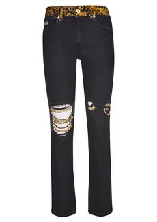 Versace Jeans Couture Denim Str. Trousers