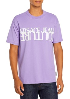 Versace Jeans Couture Inverted Logo T-Shirt