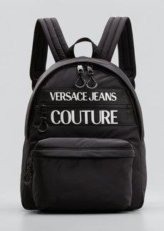 Versace Jeans Couture Men's Linea Macrologo Backpack