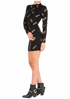 Versace Jeans Couture Short Mini Dress Long Sleeve
