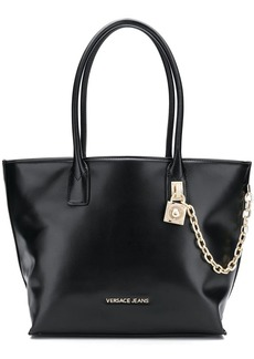 b70ca2e975 On Sale today! Versace Medium Double-Zip Lined Leather Bag