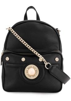 Versace front logo backpack