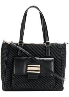 Versace embossed tote bag