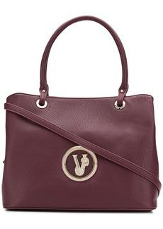 Versace front logo tote bag
