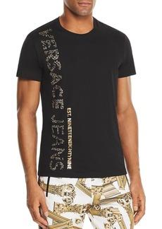 Versace Jeans Embellished Logo Tee