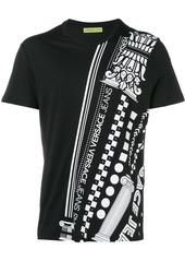 Versace Jeans logo print T-shirt - Black