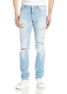 Versace Jeans Men's Light Destructed Jean