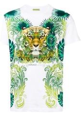 Versace Jeans Tiger print T-shirt - White