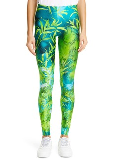 Versace Jungle Print High Waist Leggings