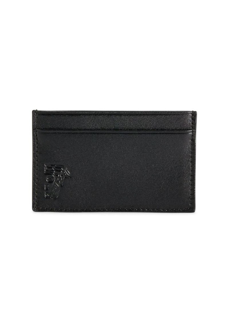 Versace Leather Card Holder