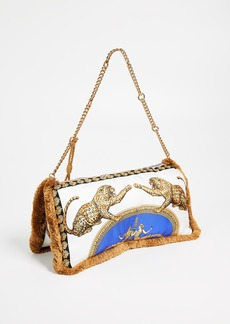 Versace Linea Evening Shoulder Bag
