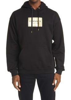 Versace Logo Graphic Cotton Hoodie