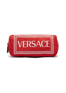 Versace Logo-print belt bag