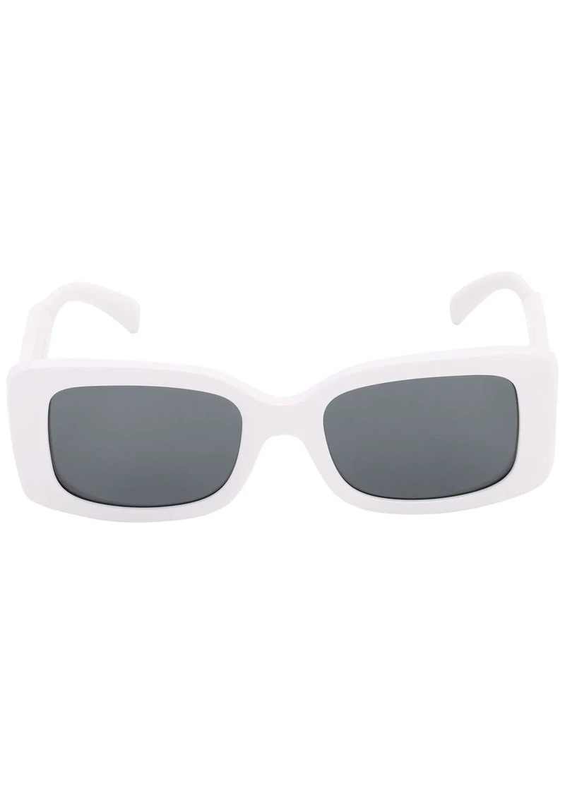 Versace Logo Squared Acetate Sunglasses