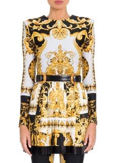 Versace Long Sleeve Jersey Bodysuit
