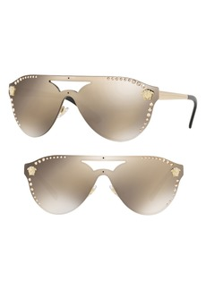 Versace Medusa 60mm Crystal Shield Sunglasses