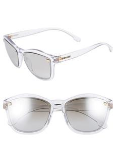 Versace Medusa 57mm Square Sunglasses