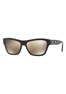 Versace Medusa Acetate Square Sunglasses