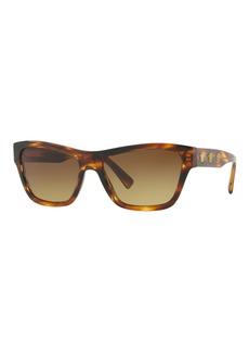 Versace Medusa Acetate Square Sunglasses