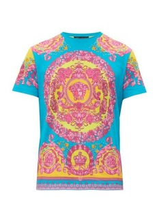 Versace Medusa and crown-print cotton T-shirt