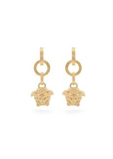 Versace Medusa drop earrings
