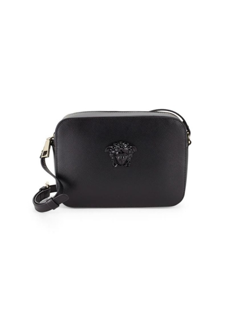 f9795bee65ba SALE! Versace Versace Medusa Emblem Leather Shoulder Bag