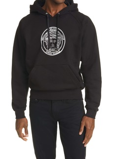 Versace Medusa Head Logo Graphic Cotton Hoodie