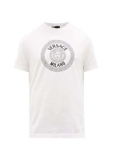 Versace Medusa-head logo-print cotton T-shirt