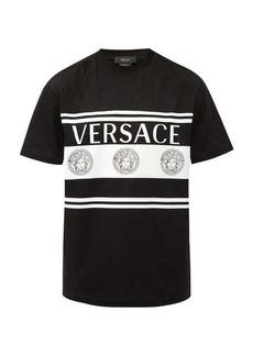 Versace Medusa Head-print cotton-jersey T-shirt