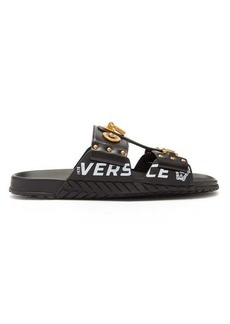 Versace Medusa leather sandals
